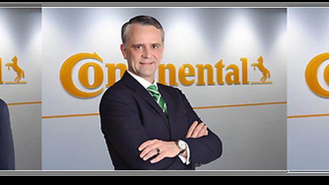 Continental nombra 3 nuevos directores en la división de Neumáticos