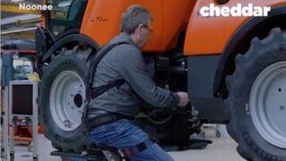 Piernas robóticas para evitar daños lumbares al reparar vehículos