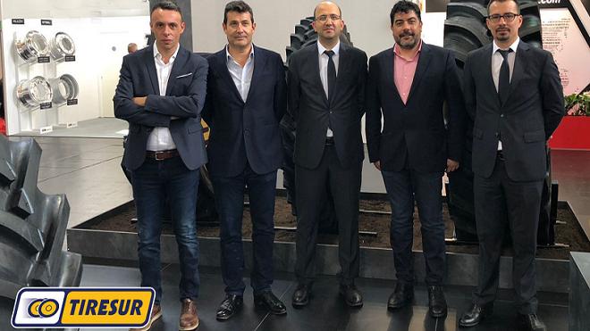Tiresur firma un acuerdo de colaboración con Ozka