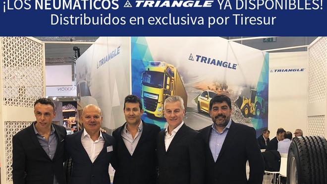 Tiresur distribuye en exclusiva neumáticos Triangle en España