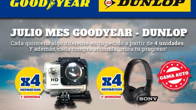 Grupo Andrés ofrece recompensas a sus clientes al adquirir neumáticos Goodyear-Dunlop