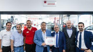 El programa de certificación Nissan para talleres de carrocería supera las 800 instalaciones