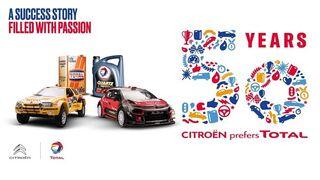 Citroën y Total celebran 50 años de colaboración