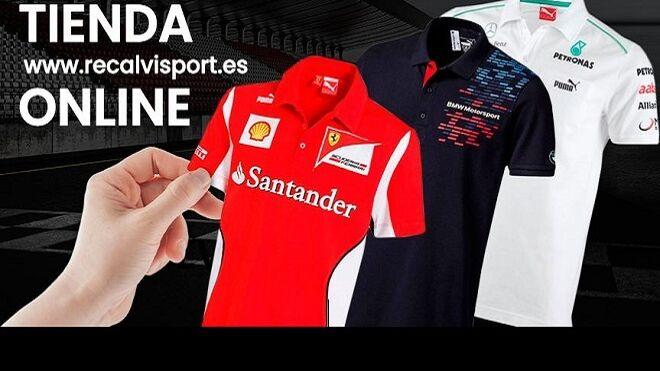 Recalvi lanza su web de 'merchandising' de las competiciones del mundo del motor