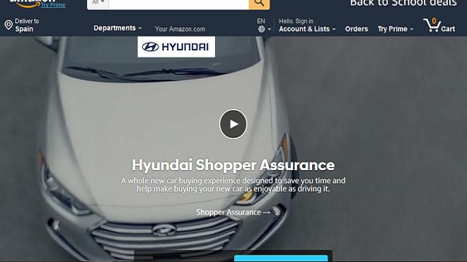 Hyundai se une a Amazon para poner en marcha su concesionario digital