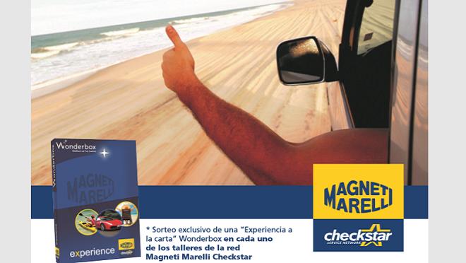 Magneti Marelli sortea packs 'Experiencia a la carta' entre sus clientes