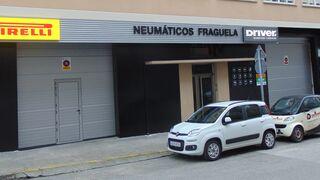 Neumáticos Fraguela, taller histórico de Driver, ya luce los colores corporativos de la red