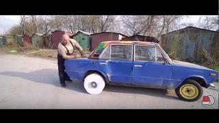 Cómo construir una rueda para un coche con 10.000 folios