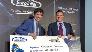 El equipo EuroTaller Theodora suma 23.700 #kmsxsonrisas para niños hospitalizados