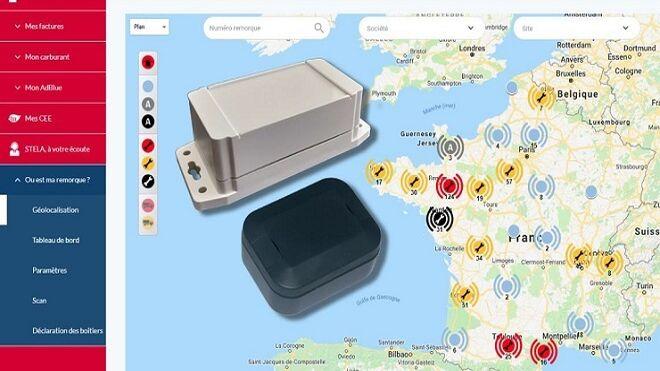 Total y Sigfox monitorizan las flotas de camiones en tiempo real