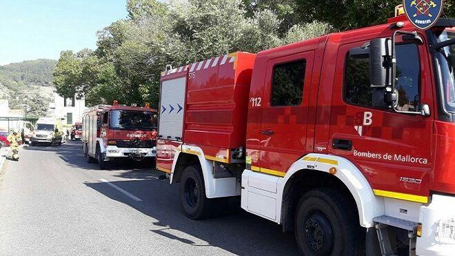 Un taller mallorquín queda calcinado tras un incendio