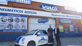 Vulco incorpora varios Fiat 500 como coches de sustitución en sus talleres