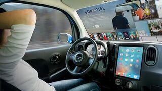 El parabrisas, ¿la nueva 'tele' del coche?