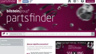 Partsfinder incorpora la búsqueda de recambios para vehículo industrial
