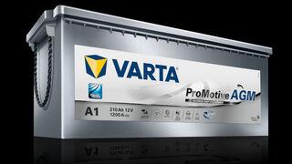 Johnson Controls muestra la primera batería AGM para camiones Varta