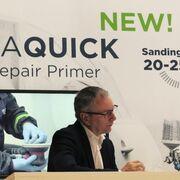 Besa  presenta en Frankfurt su aparejo de lijado ultra rápido Besaquick