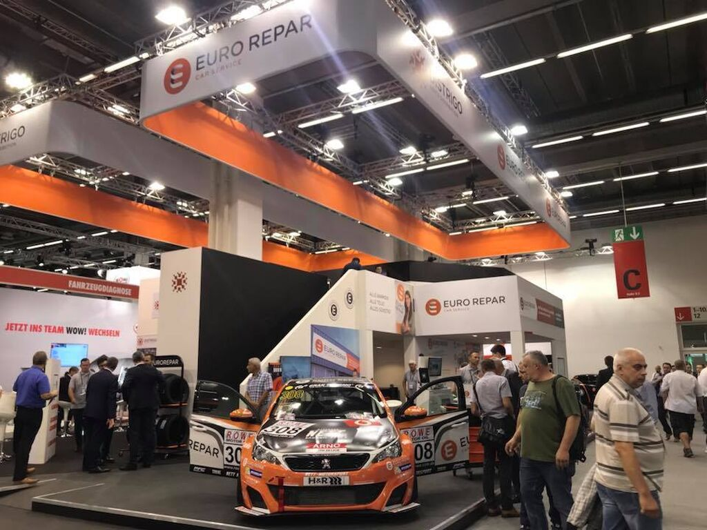 Stands en Automechanika Frankfurt