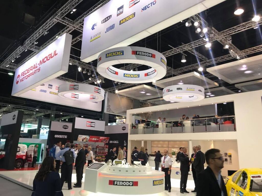 Stands en Automechanika Frankfurt 2018