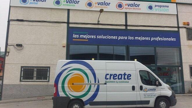 Repuestos Guadiana comienza a utilizar la imagen de marca de Create Business