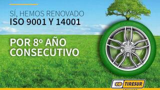 Tiresur renueva sus certificados de calidad para todos sus almacenes en España