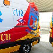 Un incendio en un taller de chapa y pintura en Madrid provoca trece intoxicados