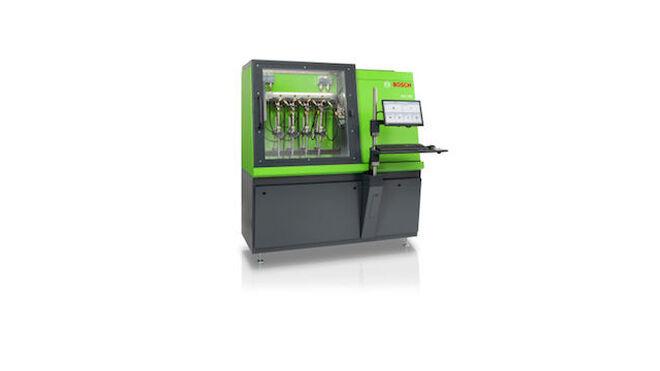 El nuevo banco de pruebas diésel Bosch DCI 700 comprueba los últimos inyectores common rail