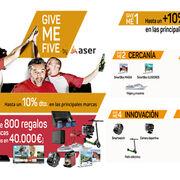 """""""Give Me Five"""", las cinco formas de Aser para premiar a sus clientes"""