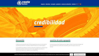 Create Business anuncia su web en castellano