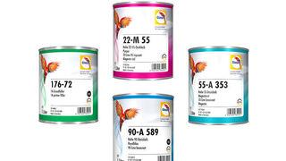 Glasurit renueva las etiquetas de sus productos