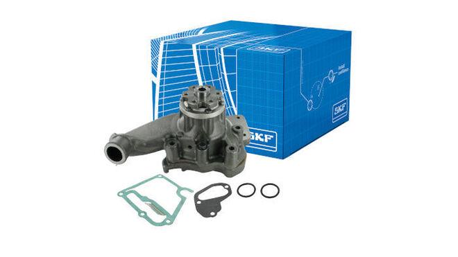SKF lanza una nueva gama de bombas de agua para vehículos industriales