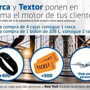 Aceites Serca y Textor sortean entre sus clientes un viaje a la Maratón de Nueva York
