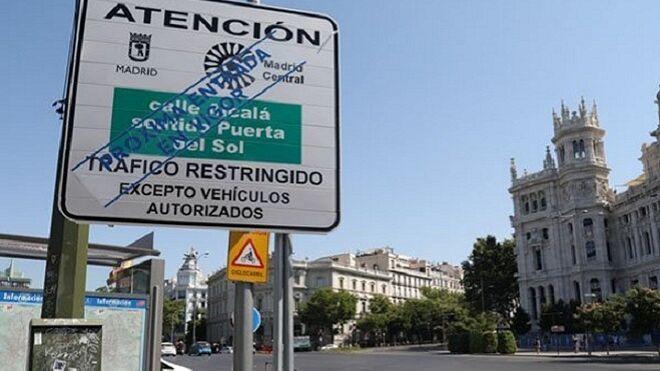 Madrid restringirá el acceso de vehículos a partir de noviembre