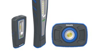Descubre las tres nuevas lámparas LED profesionales para taller de Philips