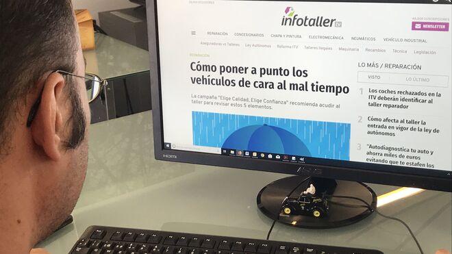 Infotaller supera el millón de usuarios en 2018