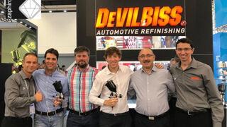 Zaphiro distribuirá en España la novedosa pistola DV1 de DeVilbiss