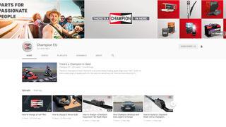 Champion presenta su nuevo canal informativo en YouTube