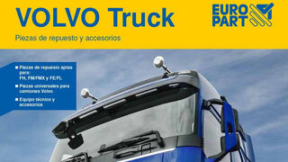 Ya está disponible el primer catálogo independiente de Europart para camiones Volvo
