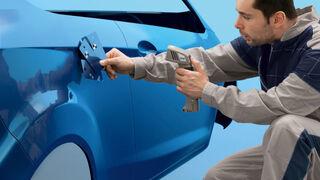 Cómo reparar la pintura con barnices tintados