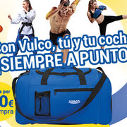 Vulco regala una bolsa de deporte con su nueva promoción