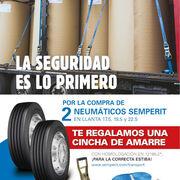 Semperit lanza una promoción para facilitar la estiba de neumáticos