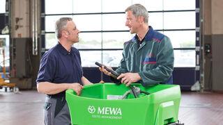 Calidad, sostenibilidad y fiabilidad, ejes de la gestión textil de Mewa