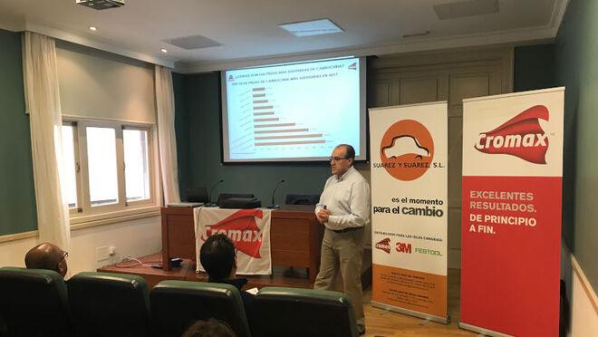 Los talleres Cromax de Tenerife y Las Palmas se reúnen en un Seminario de Eficiencia Coste Medio