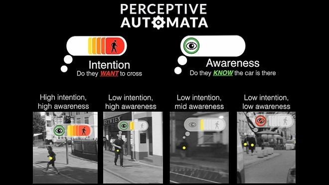 Los coches autónomos ya aprenden a interpretar el comportamiento humano