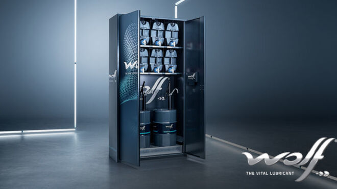 Wolf anuncia su armario inteligente Smart Oil Cabin para talleres independientes
