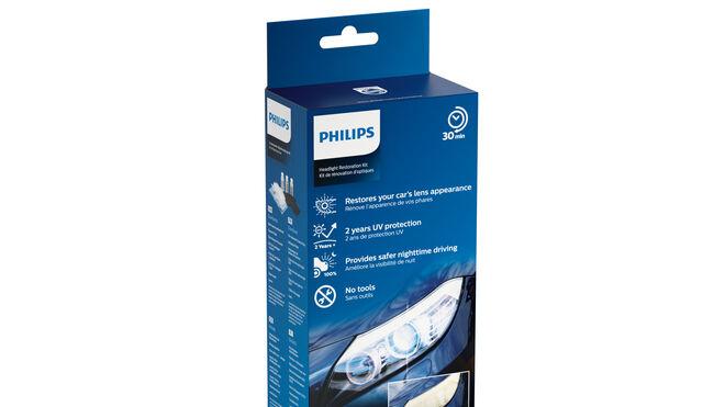 Faros como nuevos con el Kit de Restauración Philips