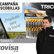 Grovisa premia la compra de escobillas Trico