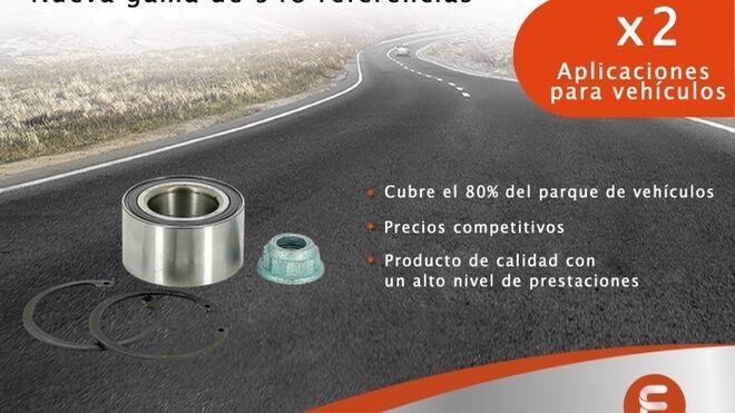 Eurorepar amplía su programa de kits de rodamientos de rueda