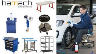 Hamach amplía su catálogo de equipamiento para talleres