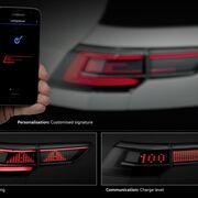 Faros delanteros interactivos y grupos ópticos traseros, claves del futuro del alumbrado de Volkswagen