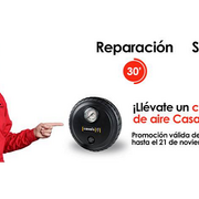Carglass regala compresores de aire a sus clientes